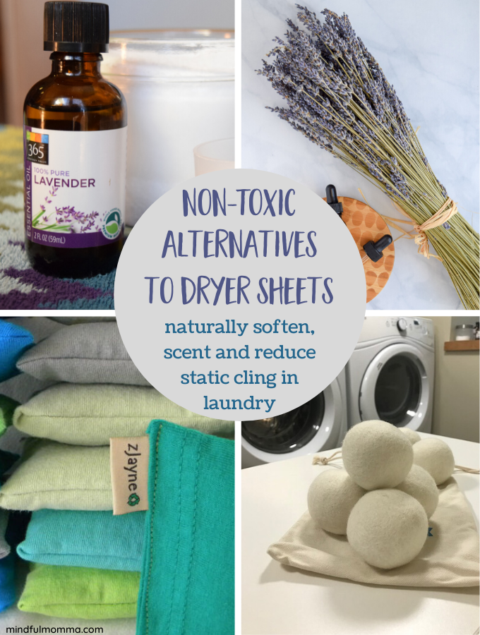 Dryer Sheet Alternatives that are Natural, Non-Toxic and Eco-Friendly