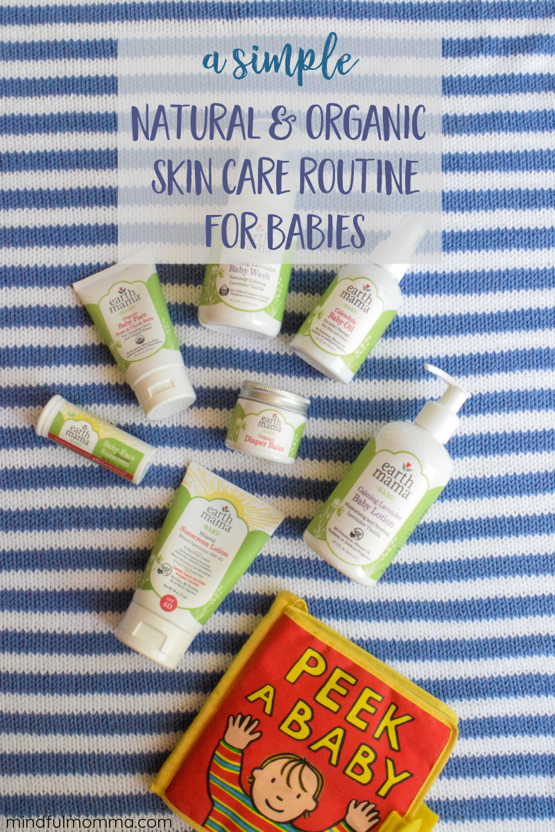Learn why natural skin care is so important for babies in this interview with Melinda from Earth Mama Organics. Plus find out which baby care products you need, and what you can skip! | #ad #earthmama #baby #organic #natural #babycare #babygifts  via @MindfulMomma