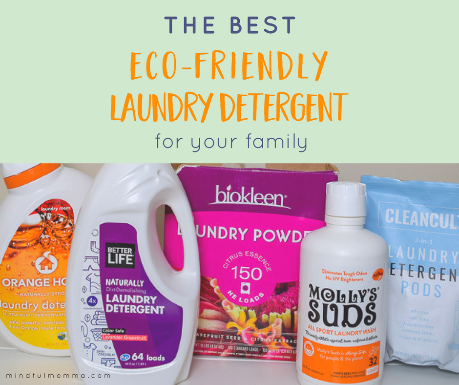 The Best Eco-Friendly Laundry Detergent Brands That Work