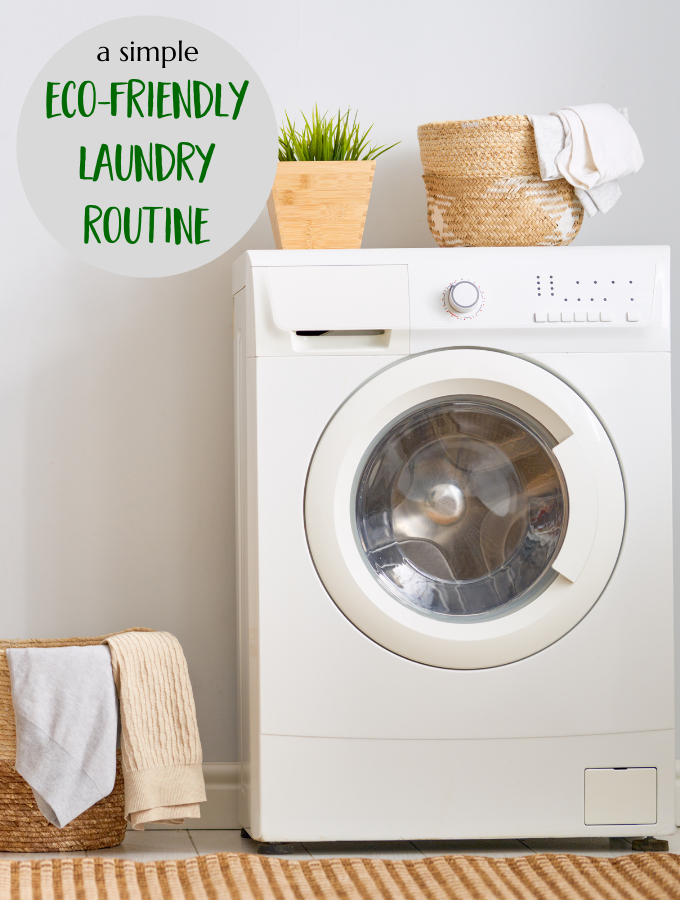 Eco-Friendly Green Laundry Routine