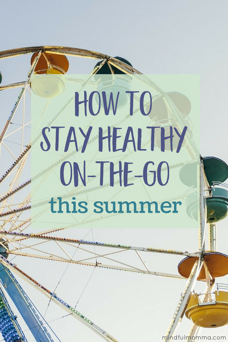 Outdoor festivals, state fairs, farmer's markets, vacations....Summer is full of fun activities and it can be hard to enjoy it all while still maintaining a healthy routine. Read this post for tips to stay healthy on-the-go with your family this summer! Plus there's an amazing GIVEAWAY you need to enter!! #ad #healthyliving #healthysummer #summerfun #vacationtime #natrolgummies #giveaway via @MindfulMomma