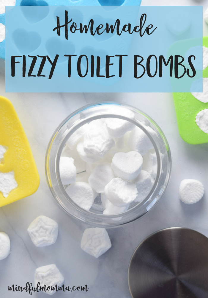 Homemade Fizzy Toilet Bombs