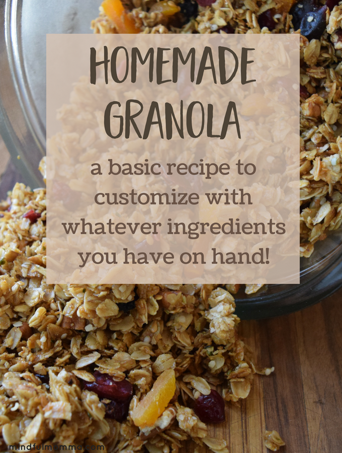 Basic Homemade Granola Recipe