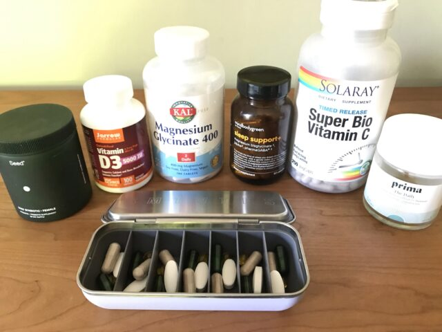My daily supplement routine