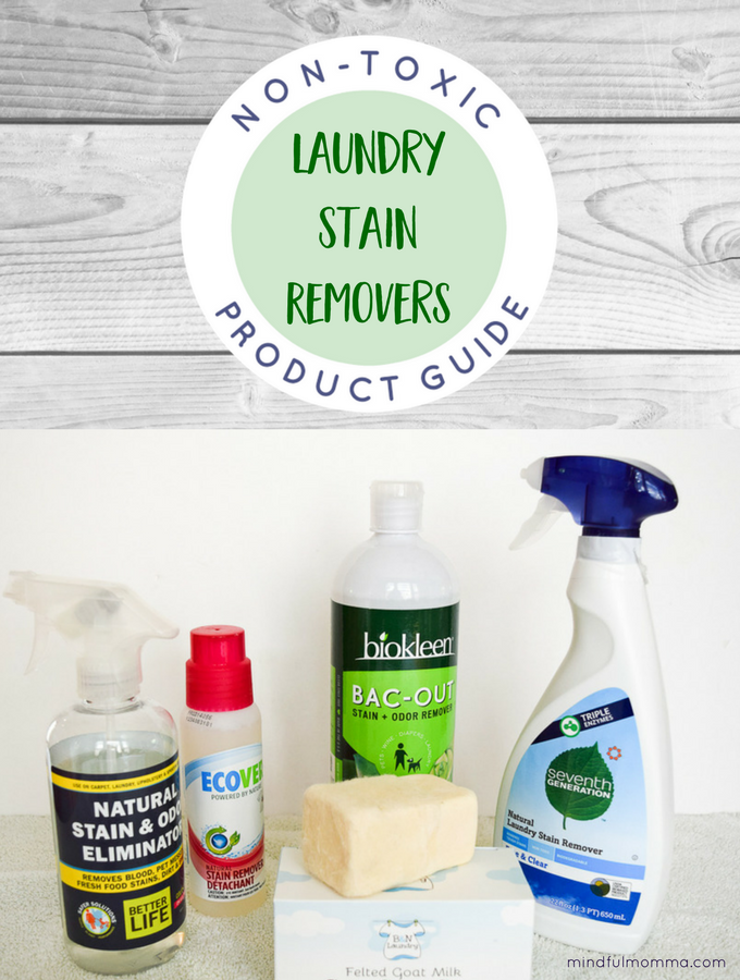 Eco Friendly Stain Removers Non-Toxic Product Guide
