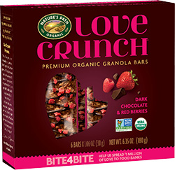 Love Crunch Granola Bars and other organic snacks