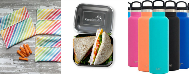 Lunch Boxes, bags and water bottles - Eco-Friendly School Supplies