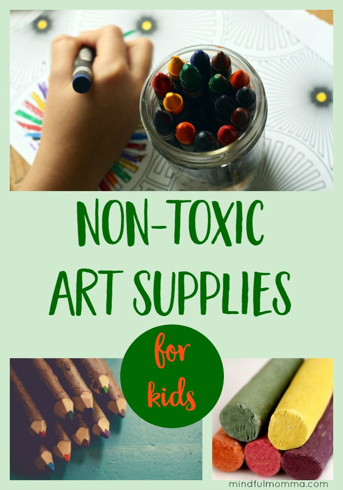 Resources for safe, non-toxic art supplies so your kids can get messy and creative without worry over exposure to toxic chemicals.