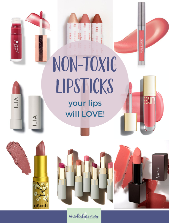 Non Toxic Lipstick and Lip Gloss Brands