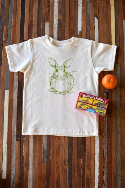 Organic Cotton Shirt Oh Little Rabbit