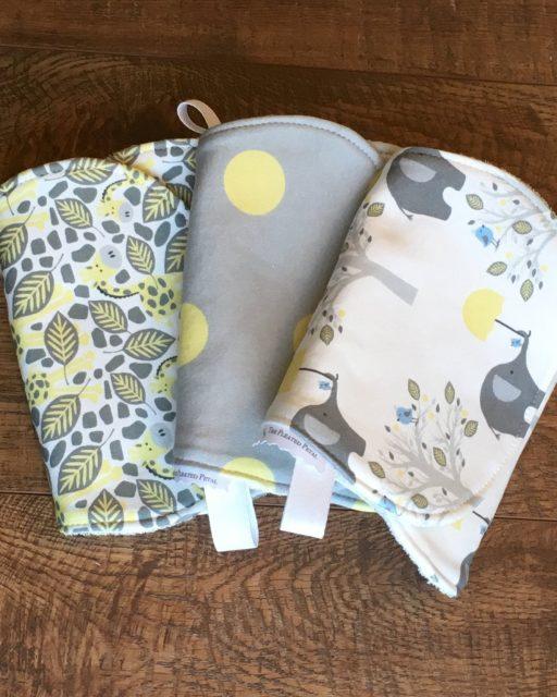 Organic Cotton burb cloth set