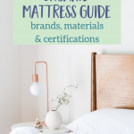 Natural & Organic Mattress Buying Guide To Help You Sleep Easy