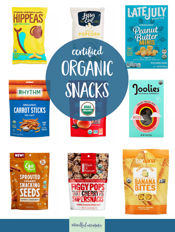 Organic Snacks Thrive Market
