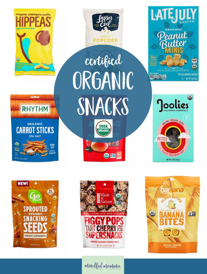 Organic Snacks Thrive Market