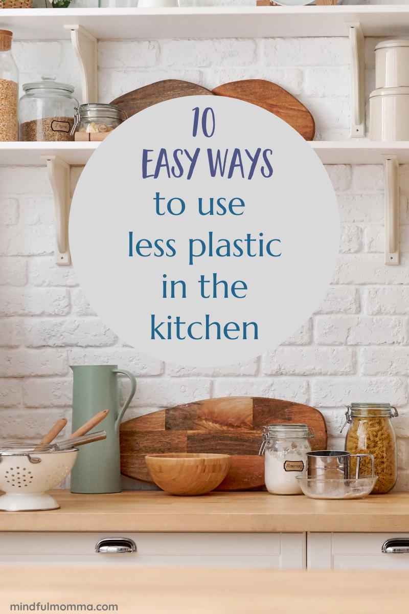 Plastic-Free Kitchen  via @MindfulMomma