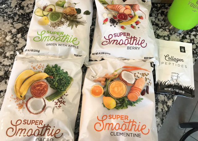 Smoothie Box review - four flavors