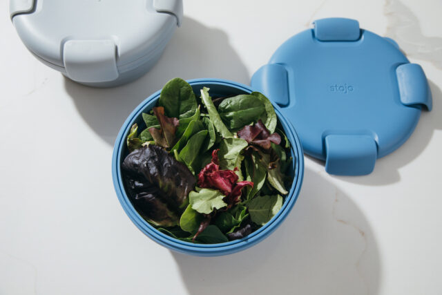 Stojo reusable silicone container