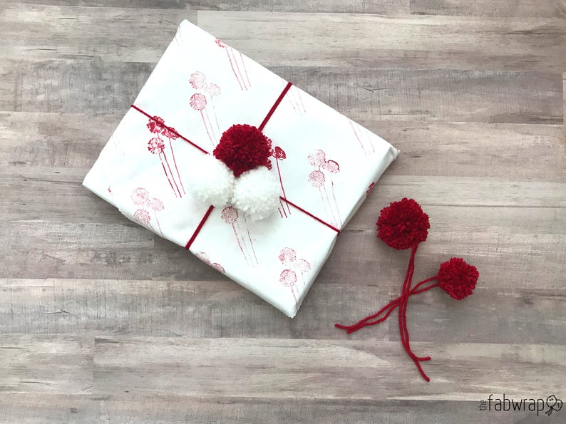Reusable gift wrap from ETSY