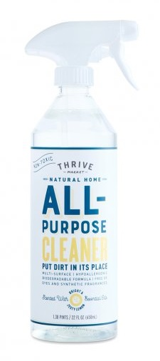 Thrive Market All Purpose Spray and other non-toxic cleaning sprays