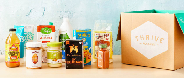 Thrive Market groceries