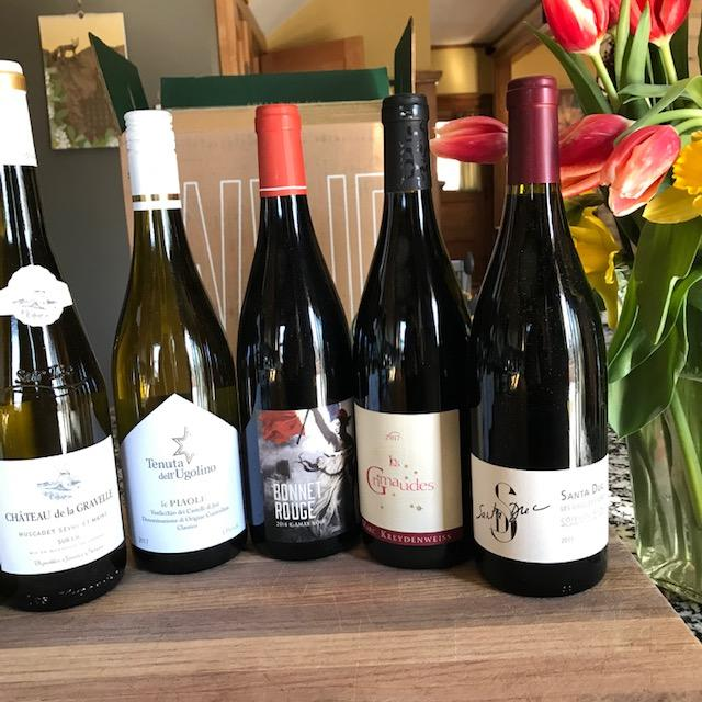 Thrive Market clean wine collection