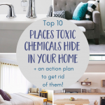 Hidden sources of toxic chemicals in the home