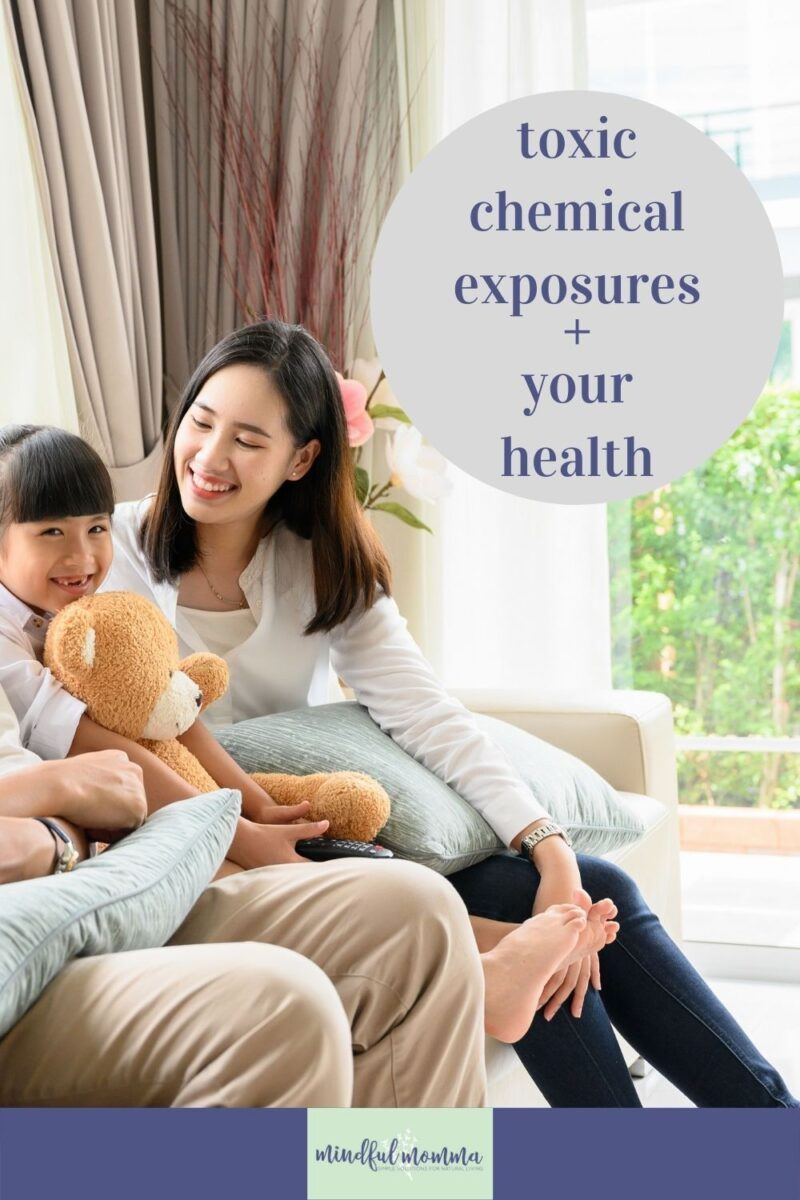 Learn how toxic chemical exposures could be impacting your health and the health of your family - ranging from headaches and eczema to chronic conditions and cancer. via @MindfulMomma