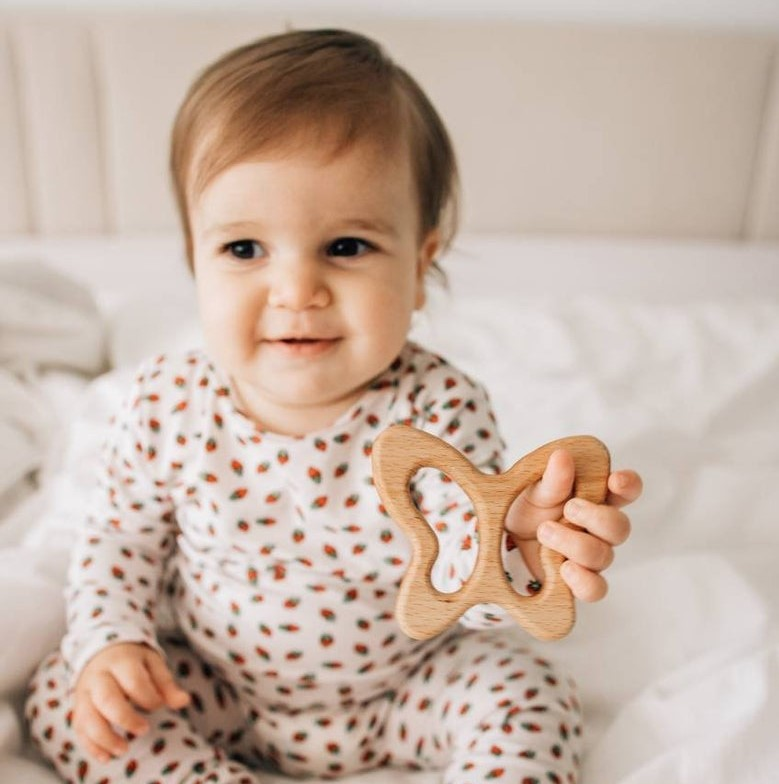 Wooden teether - Etsy gifts