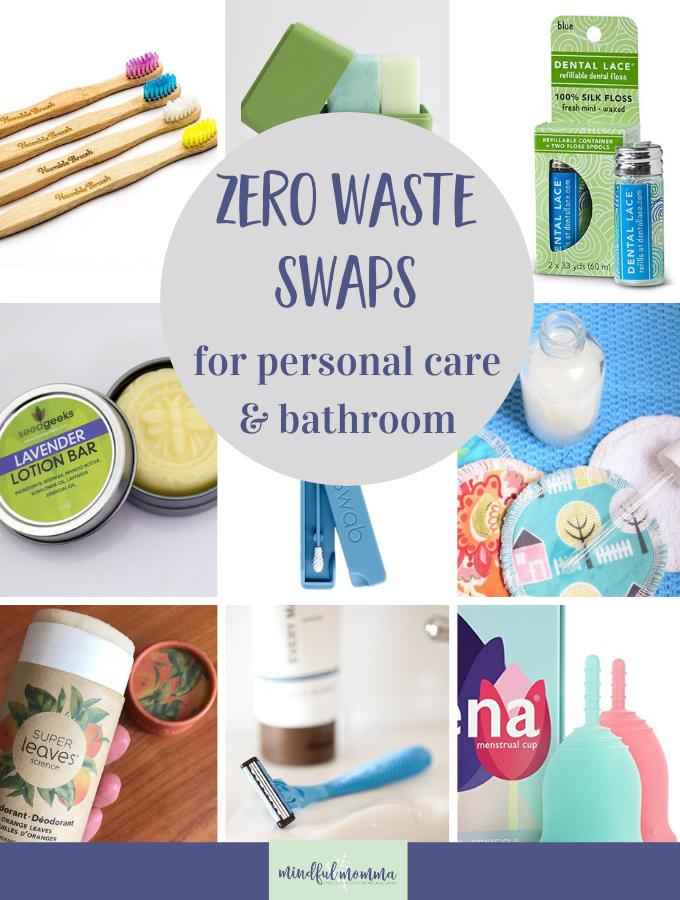 Zero waste bathroom essentials