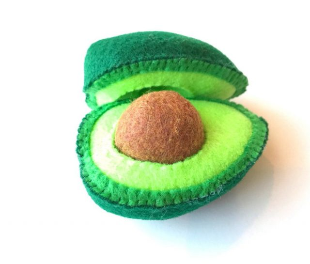 felt avocado toy Etsy gifts