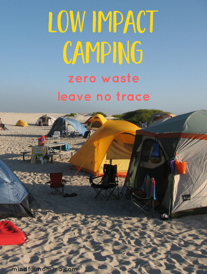 Tips for Low Impact Camping