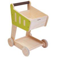 Wood Shopping Cart